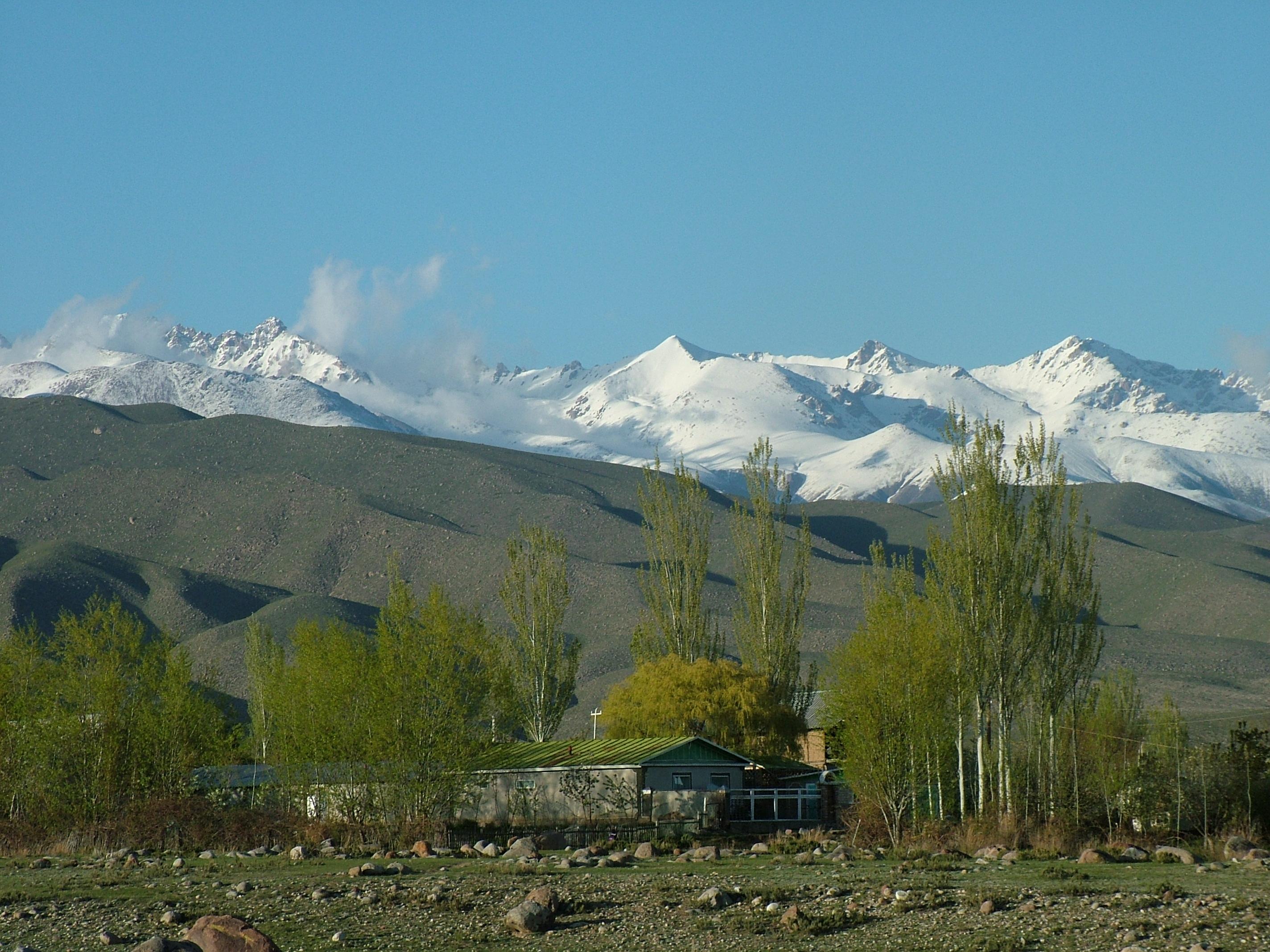 Asian mountain range apologise, but